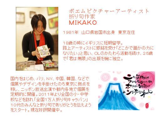 MIKAKOプロフィール